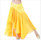 Chiffon Tight Hip Fishtail Long Skirt with sequins Belly Dance Costumes 8 colors