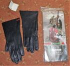 Ladies Dents Sporting Leather Riding Gloves In Navy Various Sizes