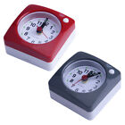Cute Portable Square Small Bed Compact Table Desk Travel Alarm Clock Non Ticking