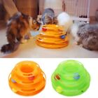 Внешний вид - Pet Cat Crazy Ball Disk Interactive Toys Amusement Plate Trilaminar Funny Toy