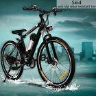 Aluminum Alloy Electric Mountain Bike Bicycle Ebike Adult City Sports Cycling US