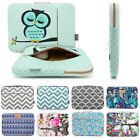 Laptop Sleeve Case Bag With Cute Owl Pattern Pouch for Macbo