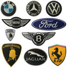 Super Racing Car Brands Embroidered Iron/sew On Patch Badge Cars Brand Logos F1