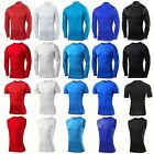 Mens Compression Shirt Sports Exercise Base Layers Gym Clothes Running Tights