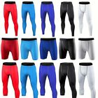 Mens Compression Shorts Pants Exercise Base Layers Cycling Tights Gym Clothes