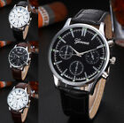 USA - Mens Wrist Watch Stainless Steel Military Sport GT Silver Style Fashion