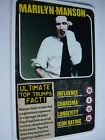 MARILYN MANSON - KERRANG TOP TRUMPS CARD