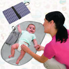 Travel Changing Station,Changing Clutch and Warterproof Diaper Changing Pad with