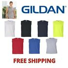GILDAN MENS TANK TOP 2700 ULTRA COTTON MUSCLE SLEEVELESS TEE T-SHIRT S-XXL NEW C image