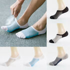 5 Pairs Mens Invisible No Show Nonslip Loafer Boat Ankle Low Cut Sport Socks US