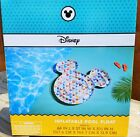 Disney Mickey Mouse Shaped Inflatable Swimming Pool Float / 3 Piece Drink Floats