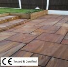 Rainbow Indian Sandstone Paving Flags Patio Path Garden Pavers - NATIONWIDE DEL*
