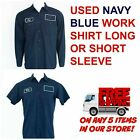 Used Work Shirts Cintas, Redkap, Unifirst, G&K Navy Blue
