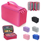 4 Layers 72 Pencil Case Bag Organizer Storage Large Capacity Pen Case Holder Box