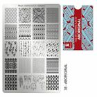 Moyra Stamping Plate Nail Art Accessories plates 26-50