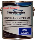 Coastal+Copper+250+Ablative+Antifouling+Boat+Bottom+Paint+Blue+Gallon