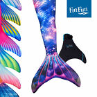 Adult Size Fin Fun Mermaid Tails for Swimming, Swimmable, Includes Monofin