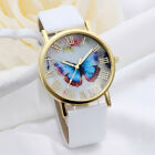 Fashion Women's Girls Watch Ladies Leather Band Dial Analog Quartz Wrist Watches