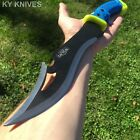 "15.5"" HUNTING SURVIVAL FIXED BLADE MACHETE Tactical Knife Camping Sword"