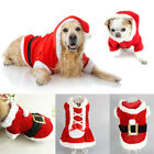 Pet Small Dog Cat Santa Claus Costume Outfit Jumpsuit Clothes For Christmas Hot