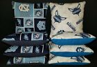 Set of 8 Charlotte Hornets UNC Tarheels Cornhole Bags ***FREE SHIPPING*** on eBay