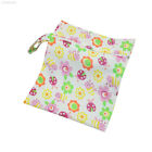 E72A Baby Diaper Bags Nappy Storage Traveling Reusable PU Cotton Waterproof
