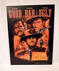 """THE GOOD THE BAD AND THE UGLY 8""""X12"""" METAL SIGN CLINT EASTWOOD WESTERN SALOON"""
