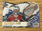 2000-01 McDonald's Hockey Cards Pacific Glove Side Net Fusions #2 Patrick Roy
