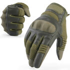 attack style hard knuckle full finger gloves