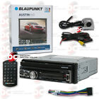 "BLAUPUNKT AUSTIN440 CAR 1DIN 7"" DVD CD BLUETOOTH STEREO W/ FREE BACK UP CAMERA"