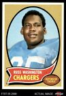 1970 Topps #206 Russ Washington Chargers EX $1.45 USD on eBay