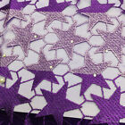 Afeican French Guipure Lace Fbaric 5 Yard Crochet Lace Fabric Embroidery Beads