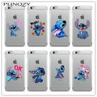 Cute Soft TPU Clear Silicon Phone Case For iPhone 6 6s Plus SE 5s 7 7Plus 4 4S 5