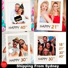 18th 30th 40th Photo Booth Props Picture Frame Wedding Birthday Party Decoration