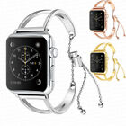 38mm/42mm Stainless Steel Bracelet iWatch Band Women Strap for Apple Watch 3 2 1 image