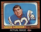 1966 Topps #127 Keith Lincoln Chargers EX $5.75 USD on eBay