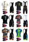 Men Team cycling jersey Bib short set Sport Clothing MTB Bike 9D Pad shorts Set