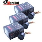 "3x 52MM 2"" Led Digitall Gauge Meter EGT Exhaust Gas Turbo Boost Water Temp"