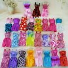 10 x Fashion Handmade Party Clothes Dress outfit for Barbie Doll Chirstmas Gift