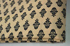 Indian Hand Block Print Fabric Women Drees Material Cotton Sewing 20 Yard &#