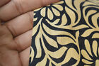 2.5 Yard Indian Hand Block Fabrics Women Drees Material Cotton Sewing Beige/99
