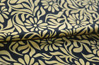 5 Yard Indian Hand Block Fabrics Women Drees Material Cotton Sewing Beige/99