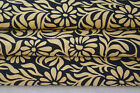 10 Yard Indian Hand Block Fabrics Women Drees Material Cotton Sewing Beige/99