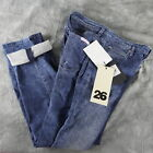 NWT Mojo Kiko SASS & BIDE Body Amour  MWind Women's DISTRESSED Blue Jeans ANB