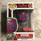 VISION Funko Pop Marvel Avnegers Age Of Ultron Target Exclusive