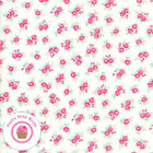 Moda Caller ROOM 8411 22 Pink Floral  KRISTYNE CZEPURYK Quilt Fabric SHABBY CHIC