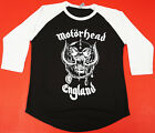Kyпить MOTORHEAD England T-shirt Lemmy War Pig Raglan Baseball Tee Men 3/4Sleeve New на еВаy.соm
