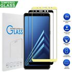 Full Coverage Tempered Glass Screen Protector For Samsung Galaxy A6 / A8+ 2018