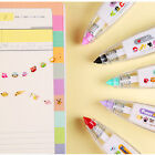Creative Stationery Push Correction Tape Lace Key Tags Sign School Supplies US