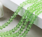 Wholesale 10mm 30pcs Crystal Glass Rondelle Faceted Loose Spacer Beads DIY